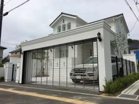 仙台市 エレガントな新築外構