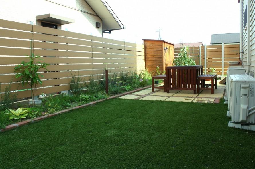 人工芝 ガーデン
