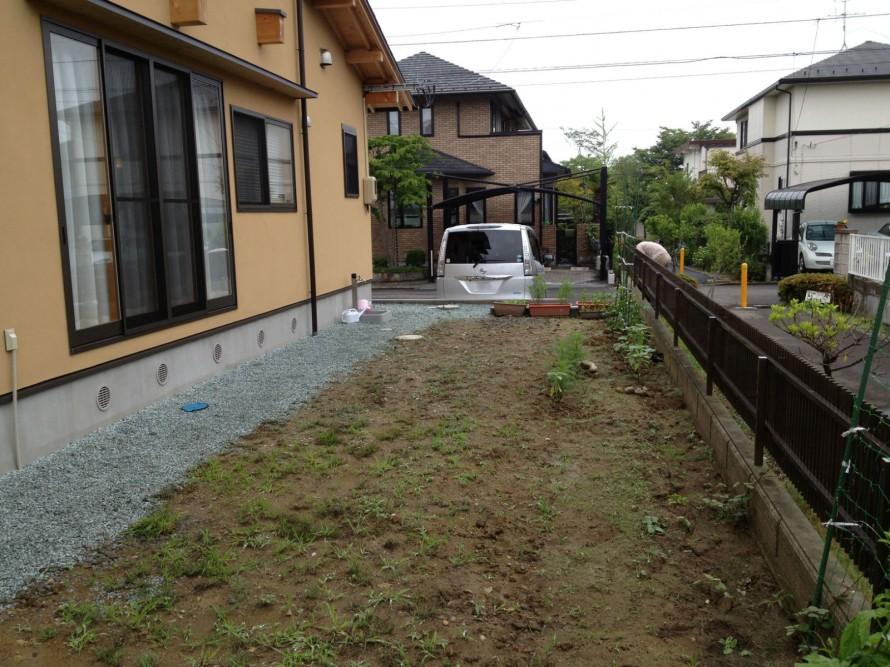 ガーデン 施工前