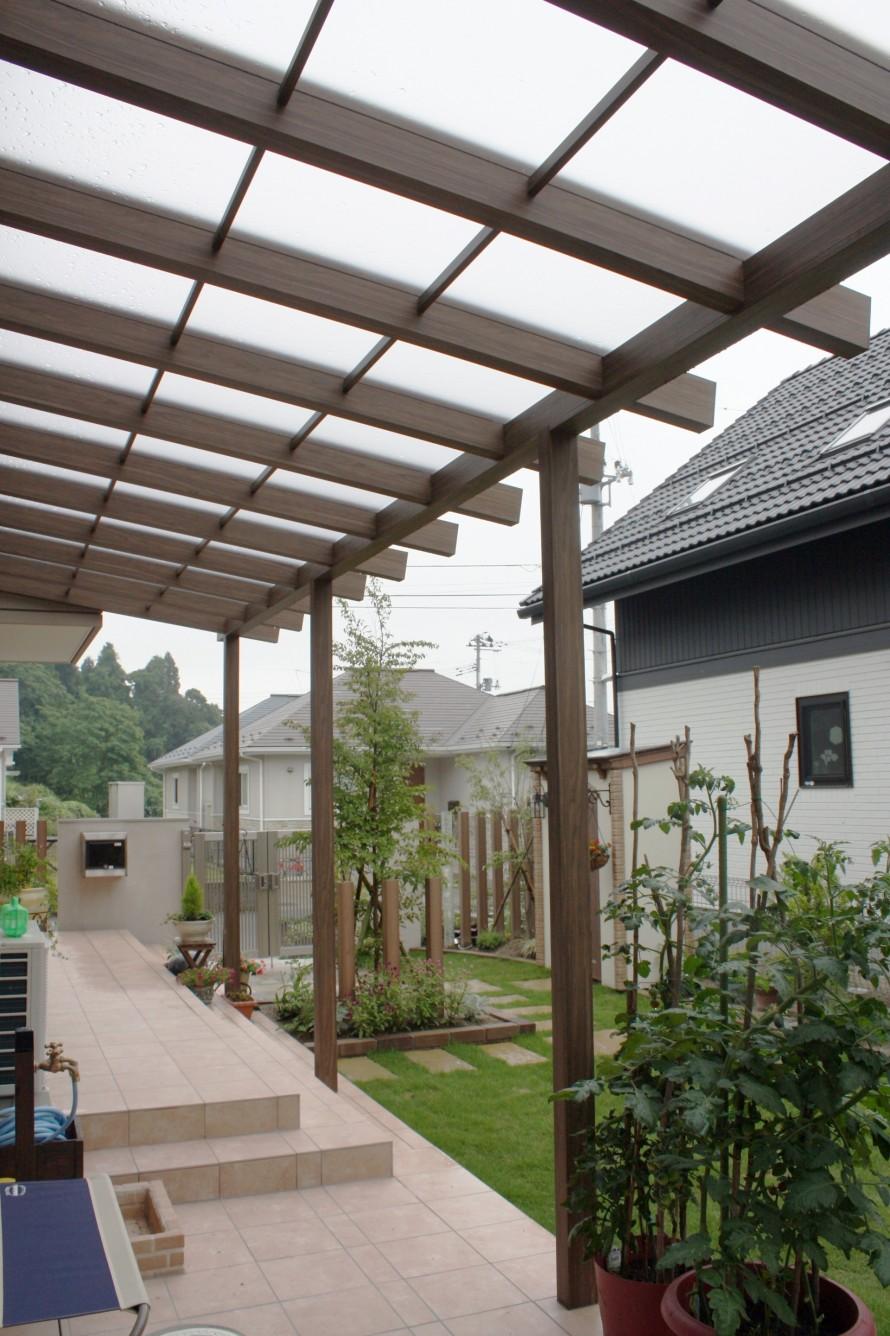 仙台市 テラス屋根
