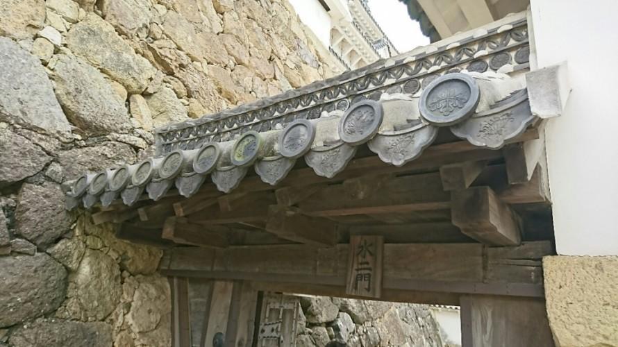 姫路城 瓦