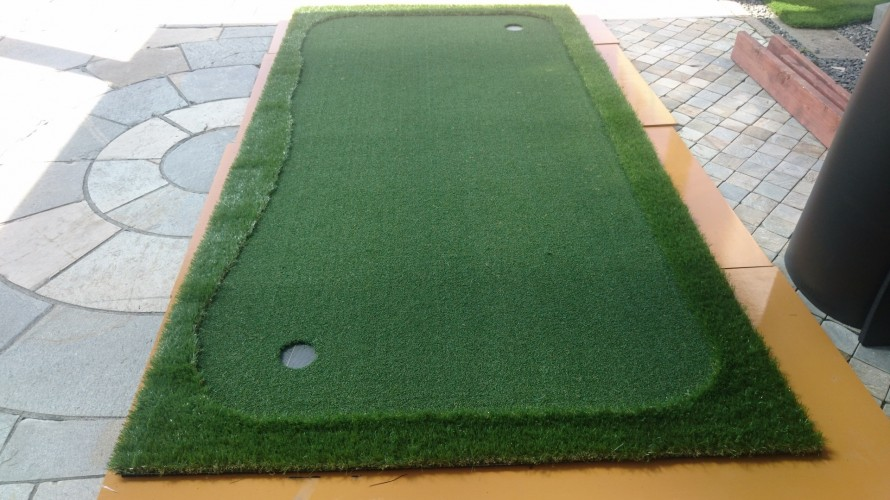 人工芝 パター