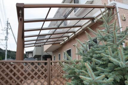 樹の木テラス 屋根