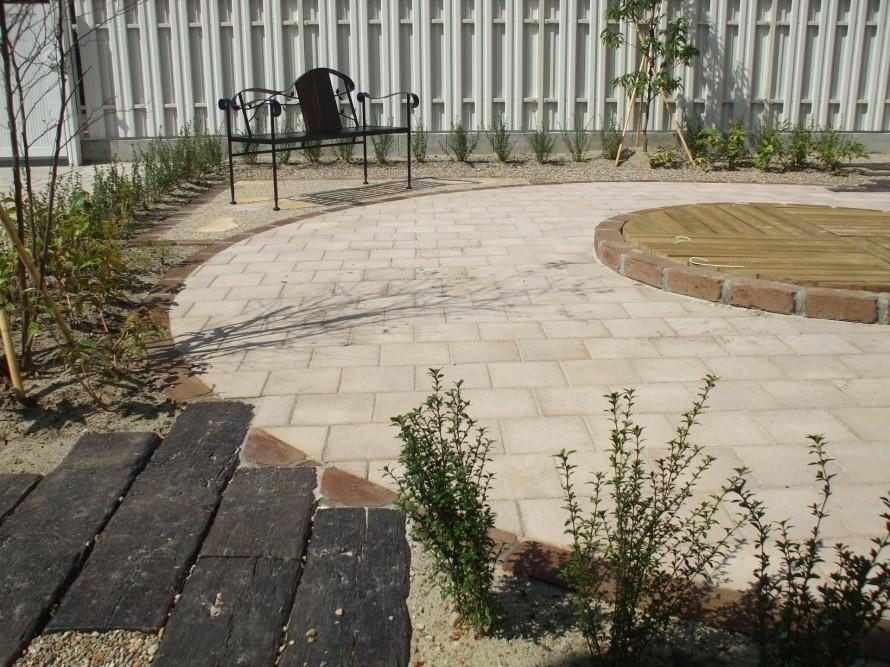 お庭 サークル